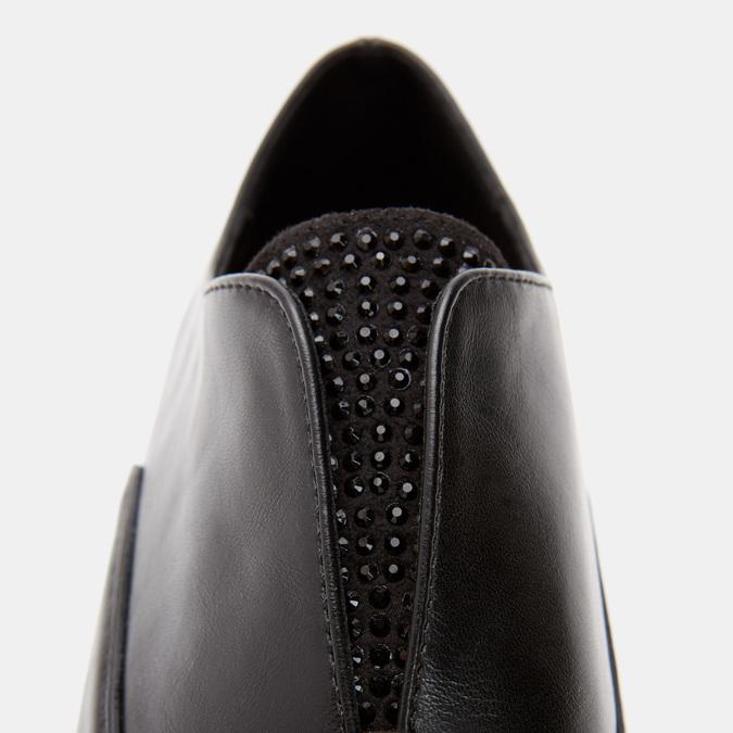 Chaussures Derby sans lacets bata, Noir, 511-6171 - 26