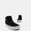 Baskets femme vans, Noir, 503-6145 - 17