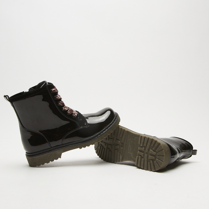 bottines enfant mini-b, Noir, 391-6119 - 19