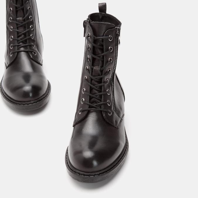 Rangers en cuir bata, Noir, 594-6588 - 16