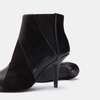 Bottines en pointe de type tronchetto bata, Noir, 791-6298 - 19