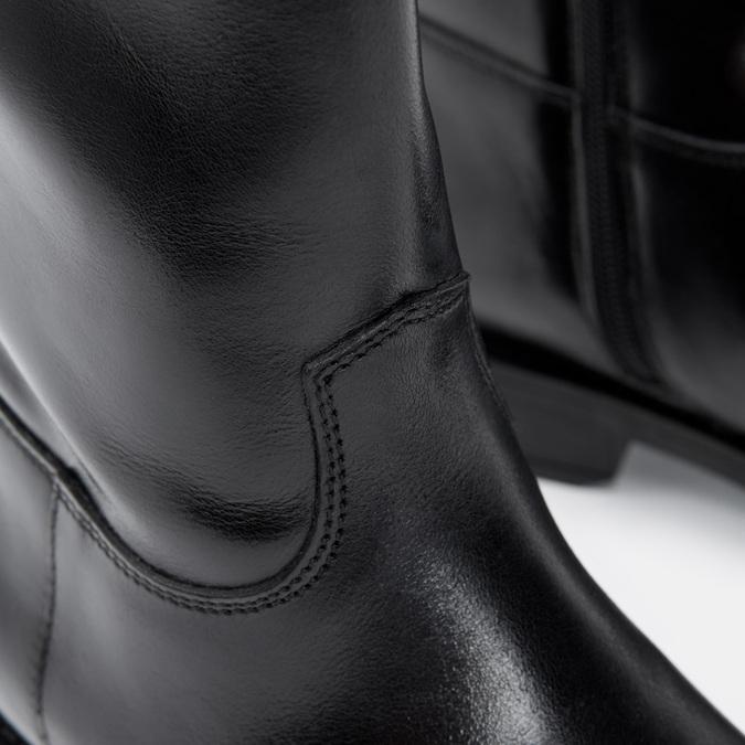 Bottes en cuir bata, Noir, 594-6420 - 26