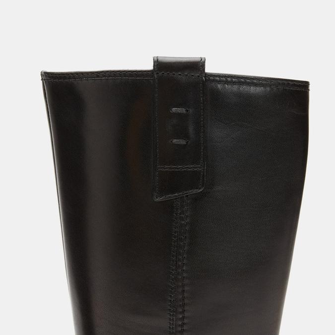 Bottes en cuir bata, Noir, 594-6373 - 26