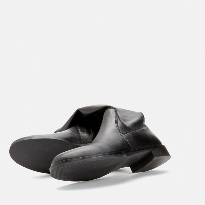 Cuissardes en cuir bata, Noir, 594-6269 - 19