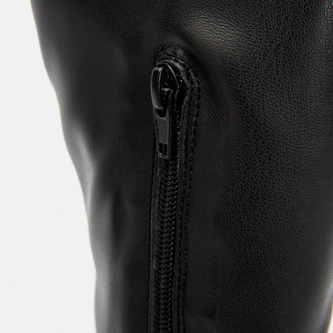 Cuissardes en cuir bata, Noir, 594-6269 - 26