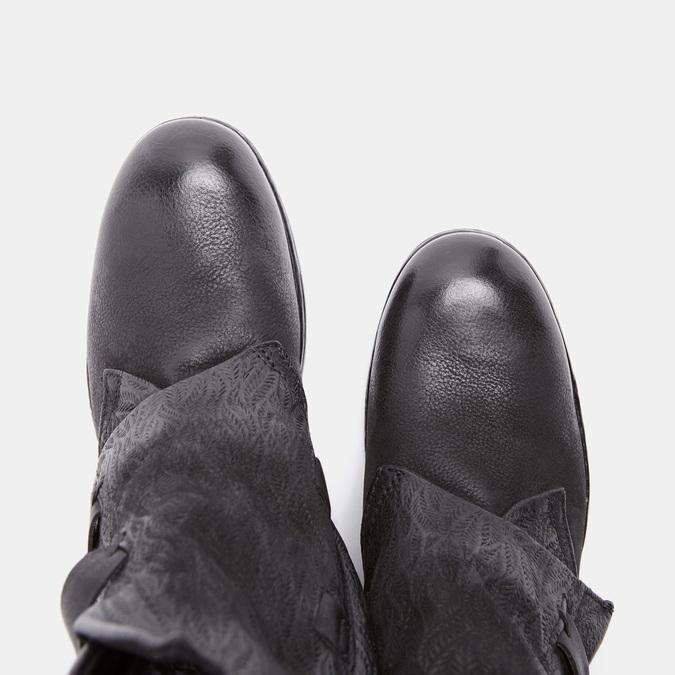 Bottines à boucles bata, Noir, 594-6582 - 19
