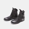 Bottines à boucles bata, Noir, 594-6582 - 26