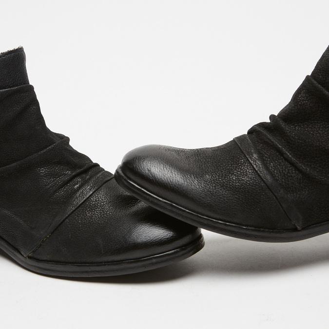 Bottines bata, Noir, 594-6780 - 16