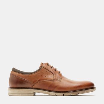 Chaussures à lacets homme flexible, Brun, 824-4780 - 13