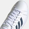 Tennis homme adidas, Blanc, 801-1663 - 16
