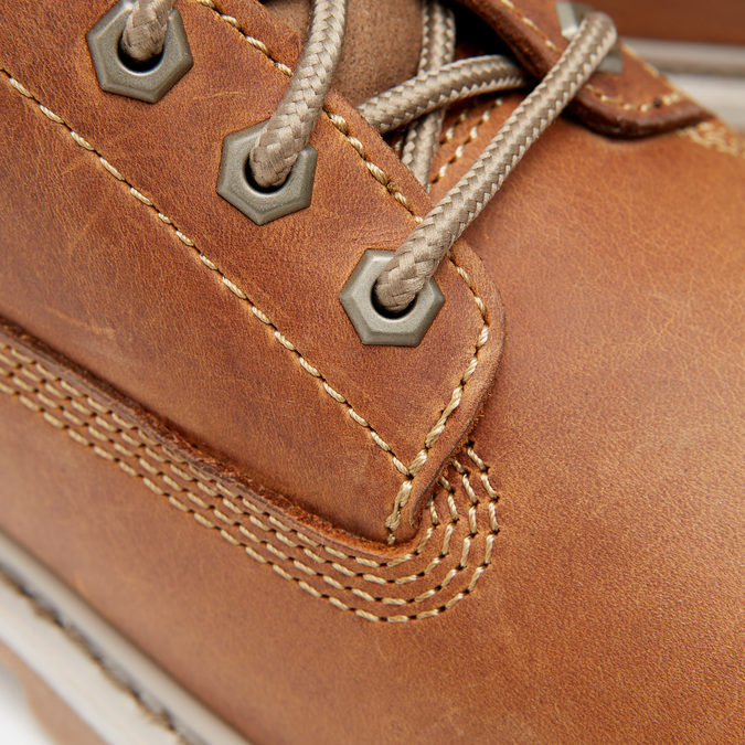 bottines en cuir homme, Beige, 894-3546 - 16