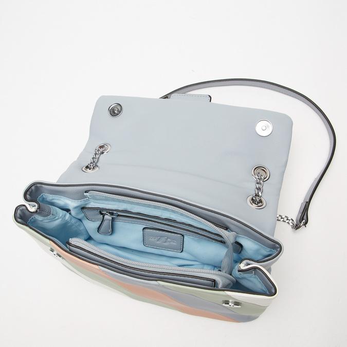 Sac bandoulière à l'épaule bata, Bleu, 961-9106 - 17