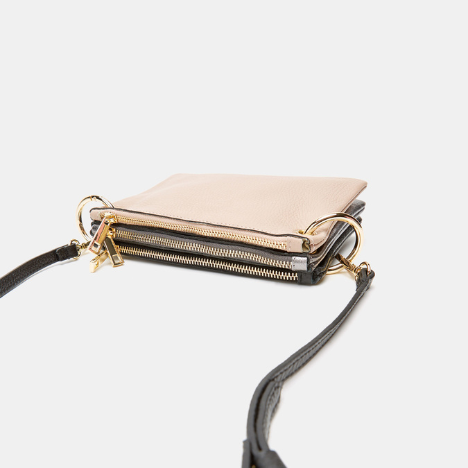 Pochette en cuir bata, Noir, 964-6366 - 16