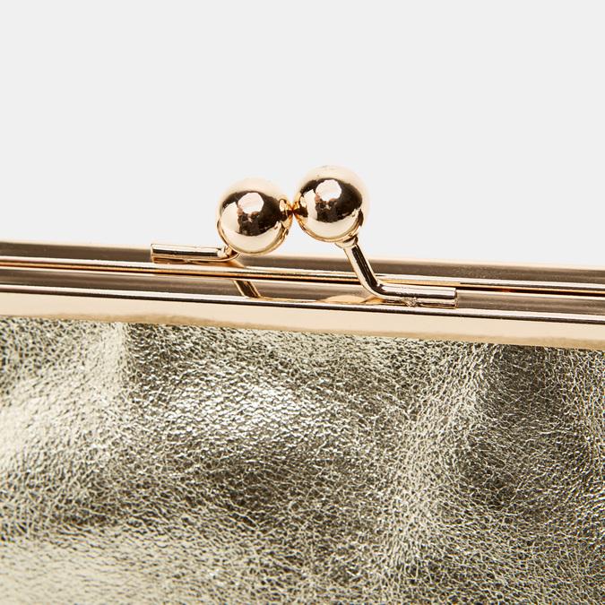 Pochette en cuir bata, Or, 964-8306 - 26