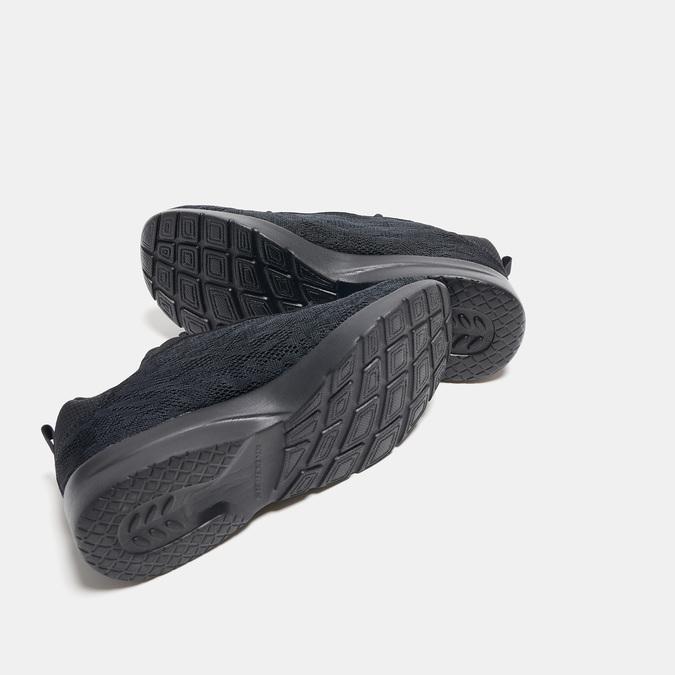 Baskets femme skechers, Noir, 509-6144 - 17