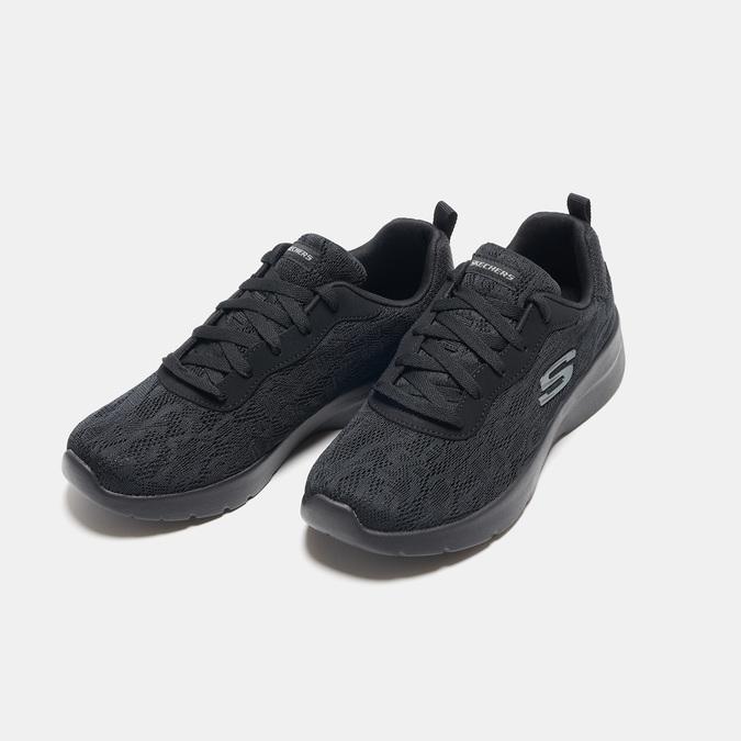 Baskets femme skechers, Noir, 509-6144 - 26