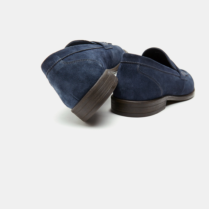 mocassins homme bata, Bleu, 813-9252 - 15