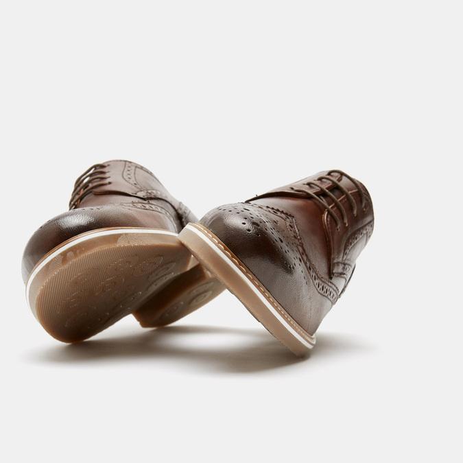 Chaussures à lacets homme bata-rl, Brun, 824-3132 - 16
