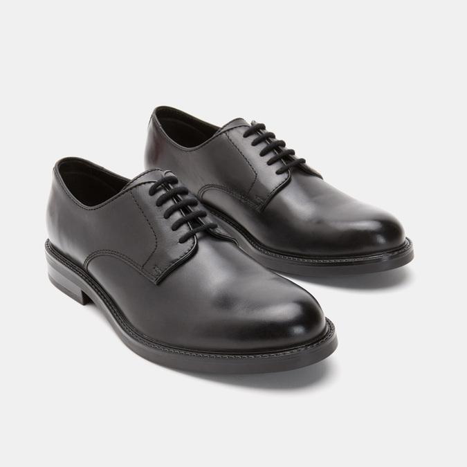 chaussures basses en cuir homme bata, Noir, 824-6264 - 16
