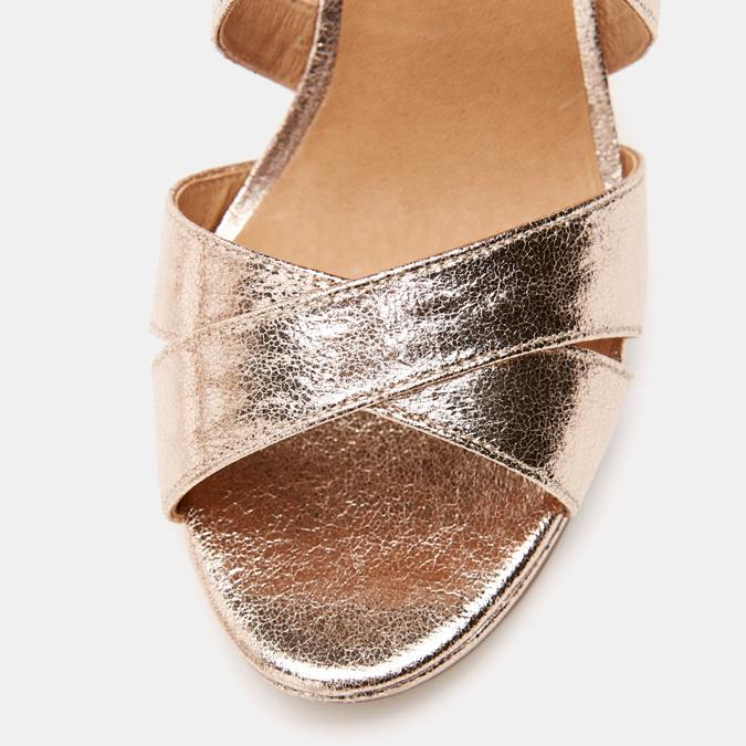 Sandales à talon aiguille bata, Rose, 761-5879 - 26