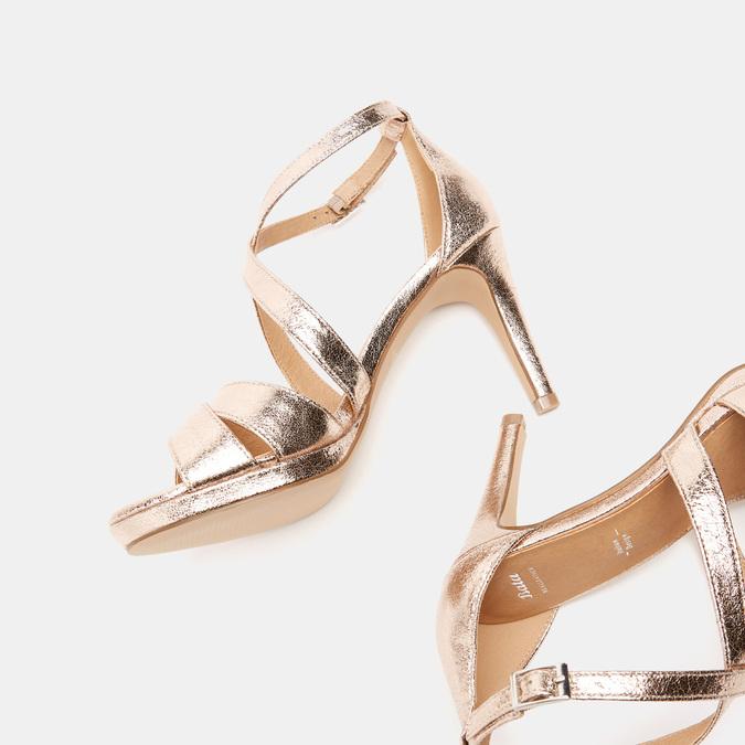 Sandales à talon aiguille bata, Rose, 761-5879 - 15