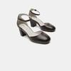 Escarpins en cuir flexible, Noir, 624-6240 - 16