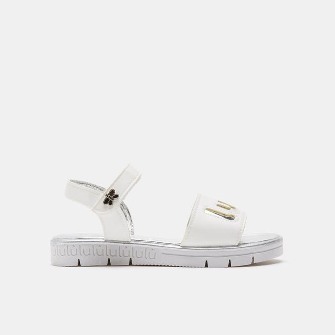 Sandales fille lulu, Blanc, 361-1112 - 13
