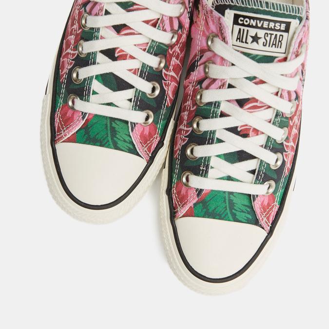 Tennis en toile imprimé floral, 589-6101 - 17