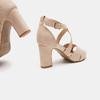 Sandales à bride autour de la cheville bata, Rouge, 769-5891 - 15