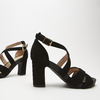 Sandales à bride autour de la cheville bata, Noir, 769-6891 - 16
