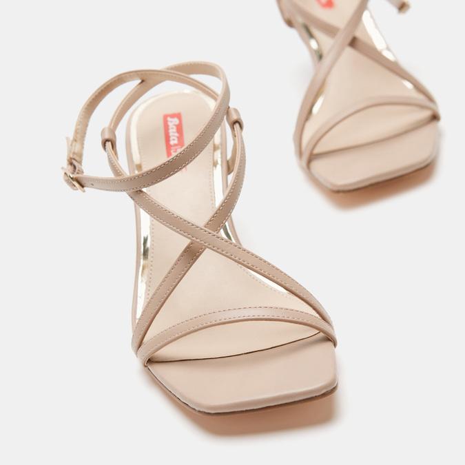 Sandales à bride bata-rl, Rose, 761-5853 - 17