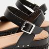 Sandales femme à plateforme bata, Noir, 761-6943 - 26