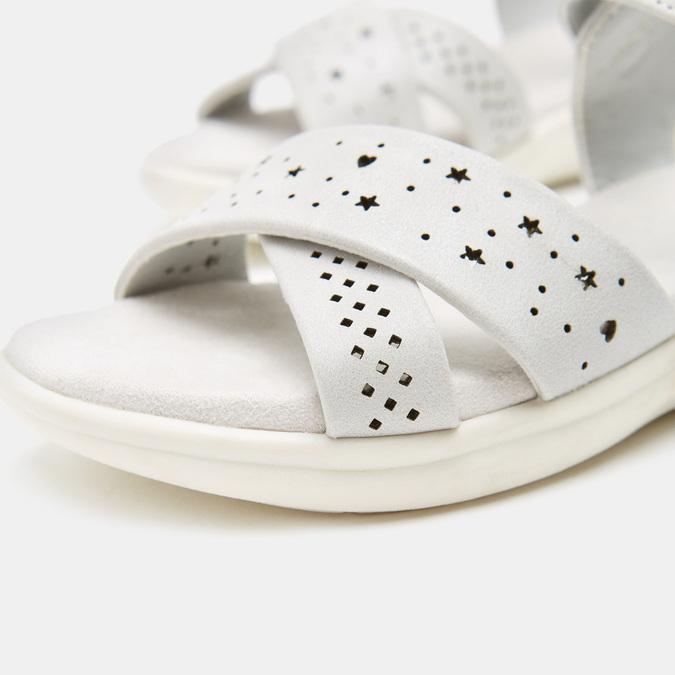Sandales fille mini-b, Gris, 361-2429 - 16