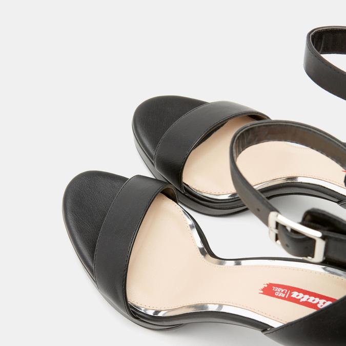 Sandales à bride autour de la cheville bata-rl, Noir, 761-6855 - 17