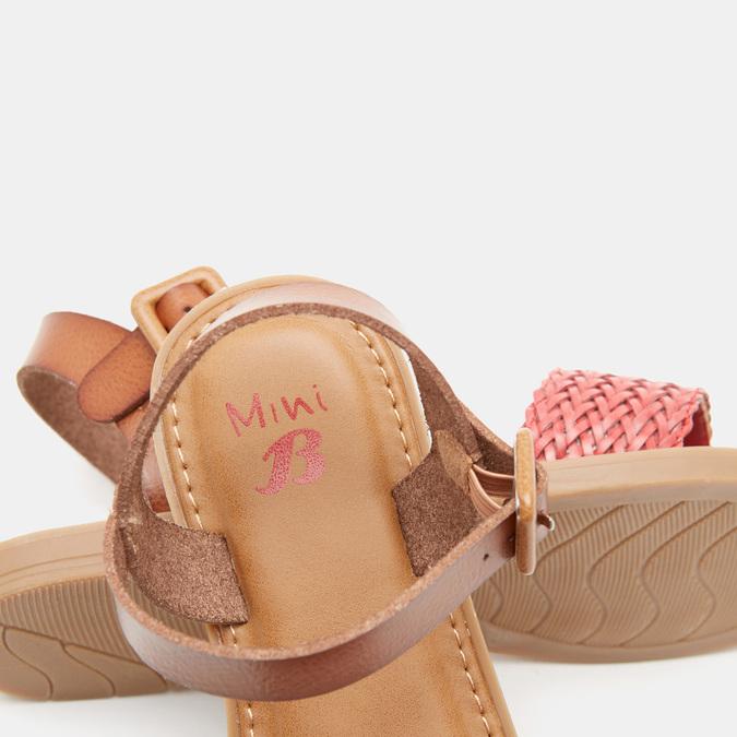 Sandales fille mini-b, Rouge, 361-5430 - 15