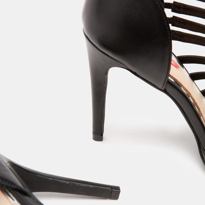 Sandales à talon aiguille bata-rl, Noir, 761-6854 - 15