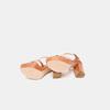 Sandales à talon large et à plateforme bata, Brun, 761-3890 - 17
