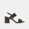 Sandales à talon large bata, Noir, 761-6860 - 13