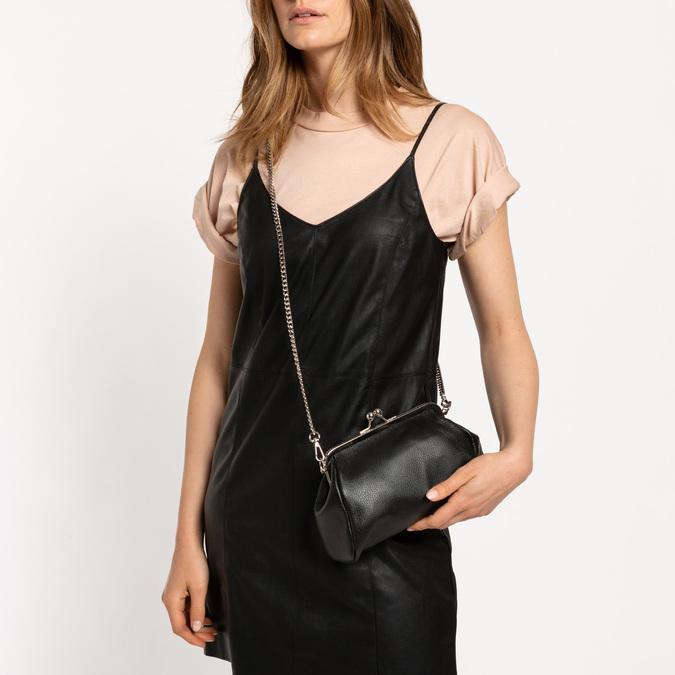 Pochette en cuir bata, Noir, 964-6306 - 19