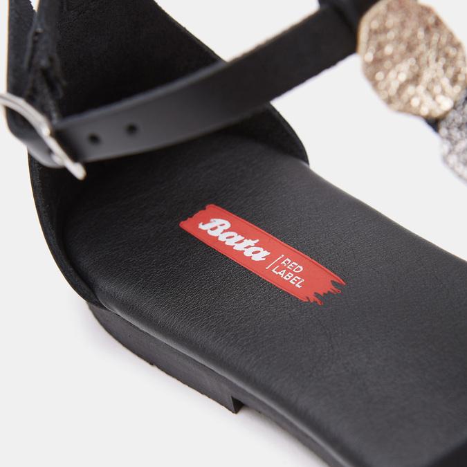 Sandales à bride bata-rl, Noir, 564-6917 - 17