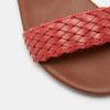 Sandales femme bata, Rouge, 561-5824 - 26