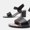 Sandales à plateforme bata, Noir, 764-6970 - 19