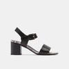 Sandales à plateforme bata, Noir, 764-6970 - 13
