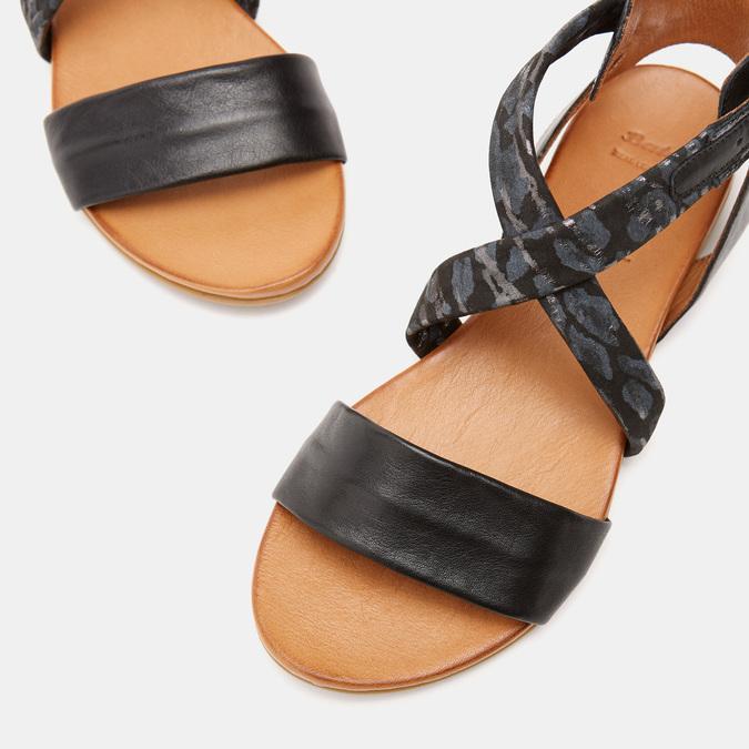 Sandales à bride bata, Noir, 564-6827 - 19