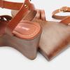 Sandales compensées bata-rl, Brun, 764-3982 - 17