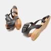 Sandales à bride bata, Noir, 564-6827 - 15
