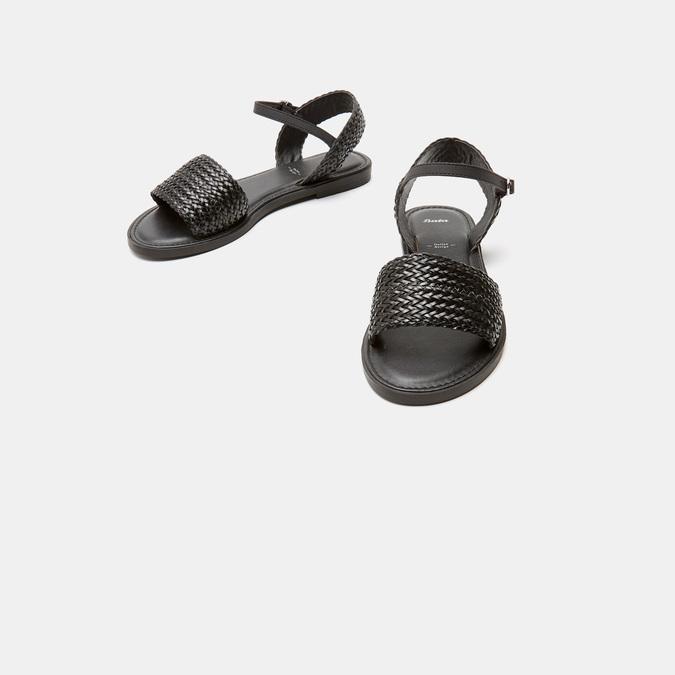 Sandales femme bata, Noir, 561-6828 - 16