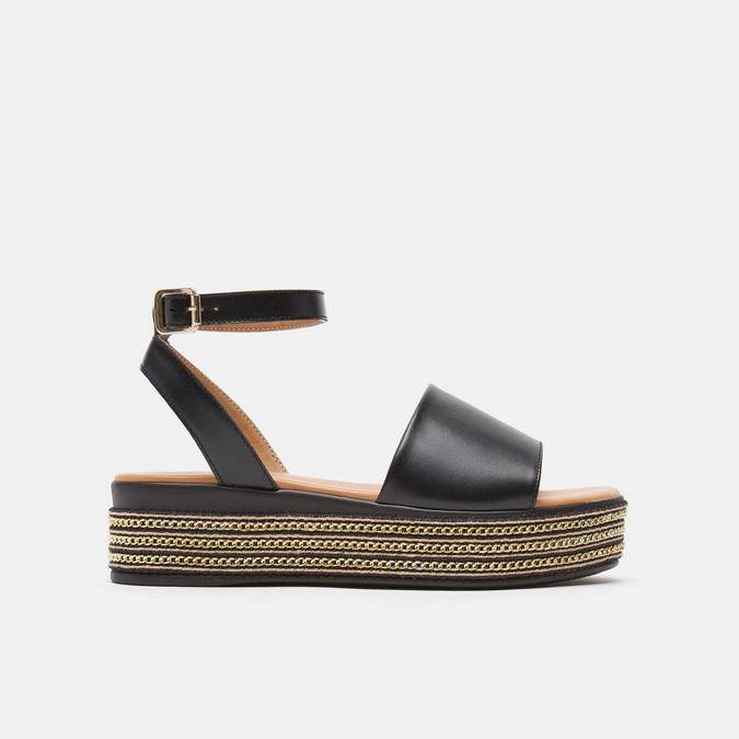 Sandales à plateforme bata, Noir, 764-6940 - 13