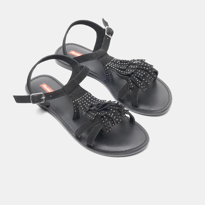 Sandales femme bata-rl, Noir, 563-6844 - 26