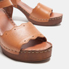 Sandales à talon bata, Brun, 764-4977 - 16